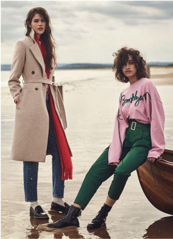 H&M Modny Eklektyzm - Romantyczna, kobieca kolekcja na jesień 2017
