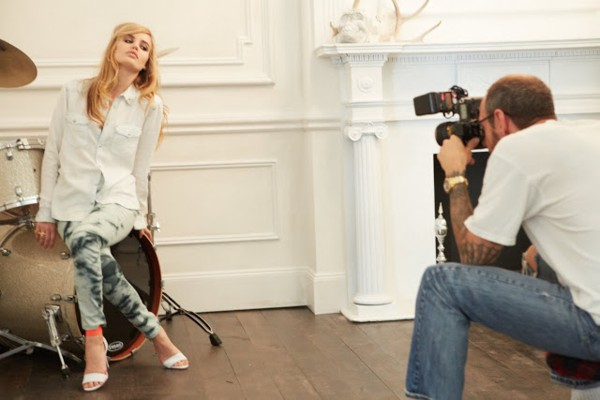 Georgia May Jagger w nowej kolekcji H&M Rock'N'Roll Mansion