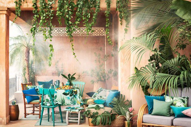 H&M Home Powiew Egzotyki - Tropikalne akcenty w wystroju wnętrz na lato 2017