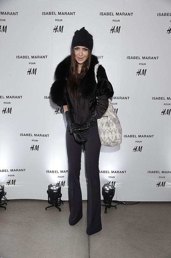 Gwiazdy na prezentacji kolekcji Isabel Marant pour H&M