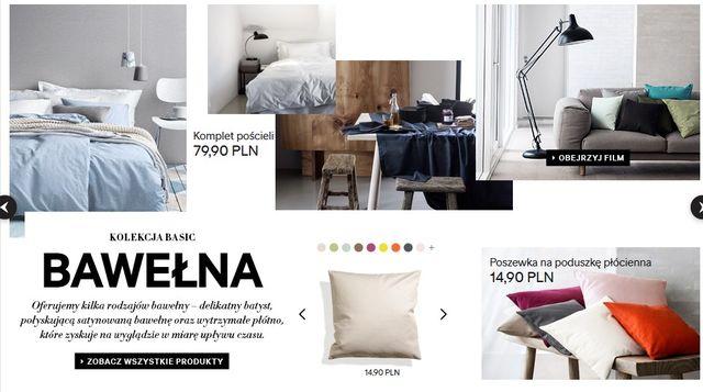 H&M Home - Kolekcja basic: Bawełna (FOTO)