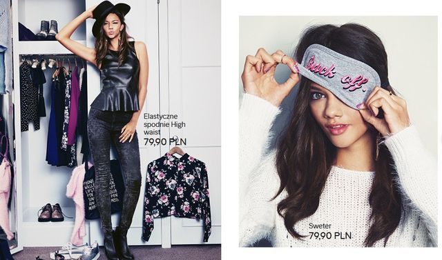 Zabawa modą wg H&M - Nowy katalog na grudzień (FOTO)