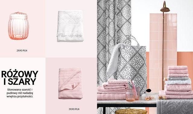 Łazienka z H&M Home - Gra w kolory (FOTO)