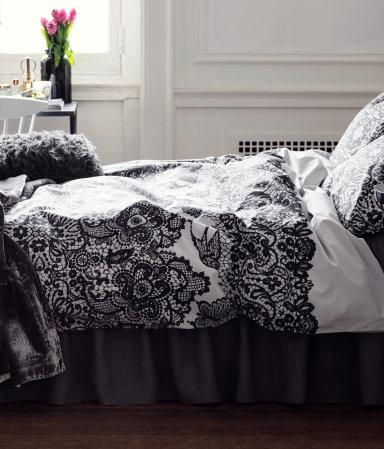 Wystrój sypialni w roli głównej z H&M Home (FOTO)