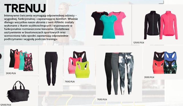 Nowa kolekcja H&M - Trenuj w dobrym stylu (FOTO)