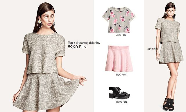 Wiosna w H&M - nowy lookbook Divided Black (FOTO)