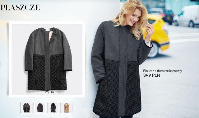 Nowa ciepła kolekcja H&M - Kurtki i płaszcze na jesień
