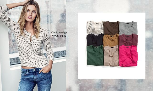 H&M Basic - Stylowe casualowe nowości marki (FOTO)