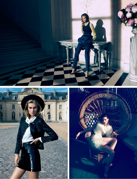 Magdalena Frąckowiak w sesji Château chic dla H&M