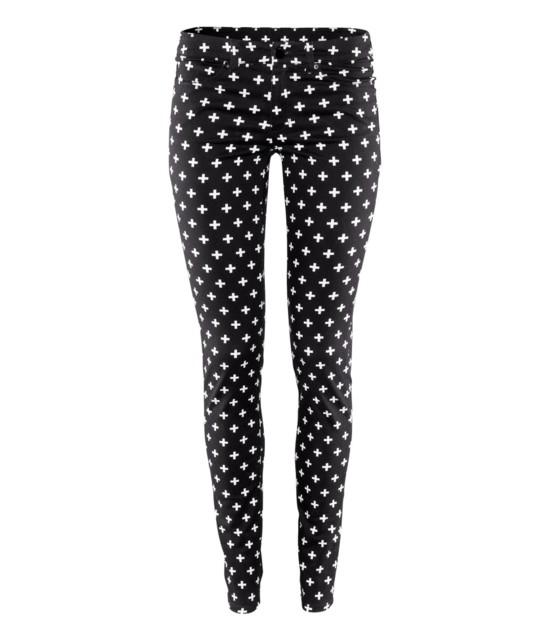Wzorzyste spodnie od H&M