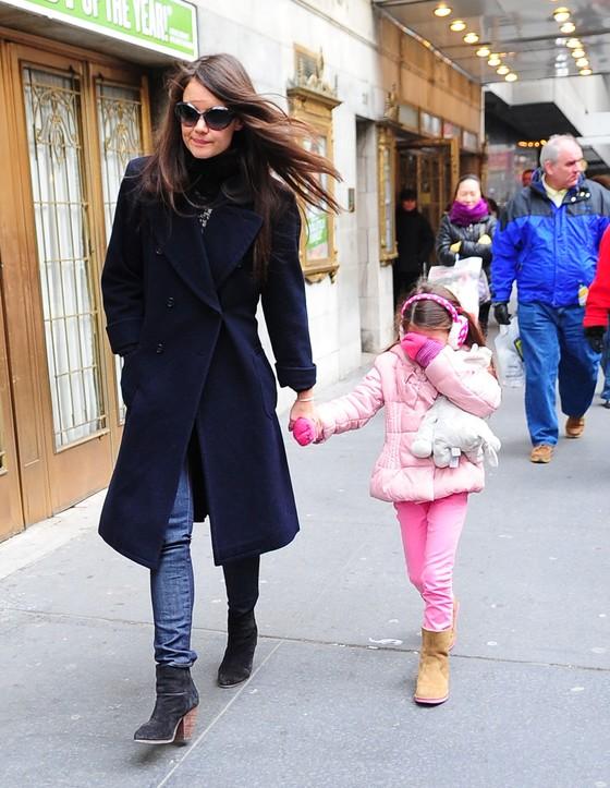 Katie Holmes i Suri: modna mama i córka