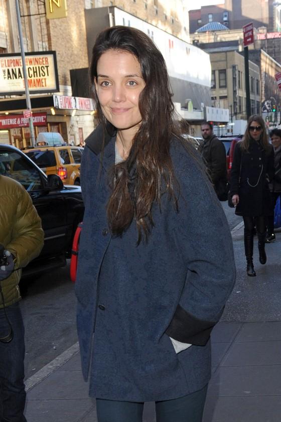 Katie Holmes bez makijażu