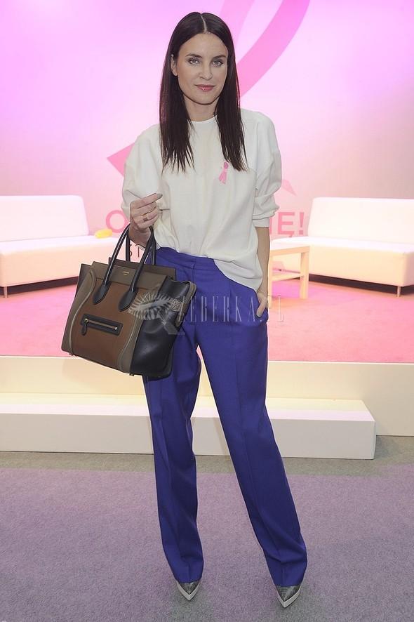 Joanna Horodyńska z torbą Céline
