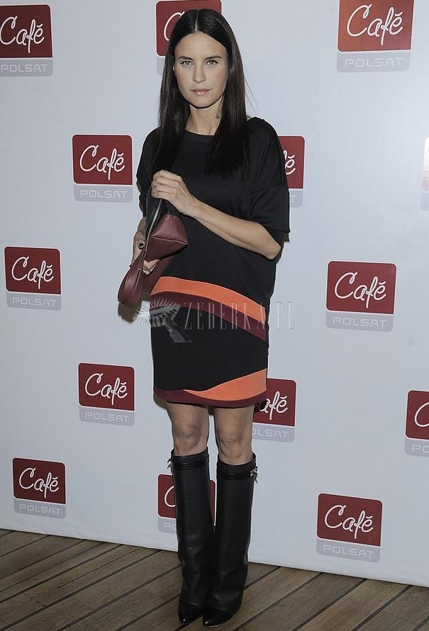 Joanna Horodyńska w kozakach Givenchy