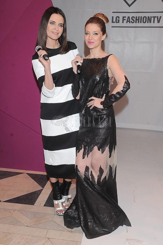 Horodyńska i Fijał w roli prowadzących na imprezie LG Fashio