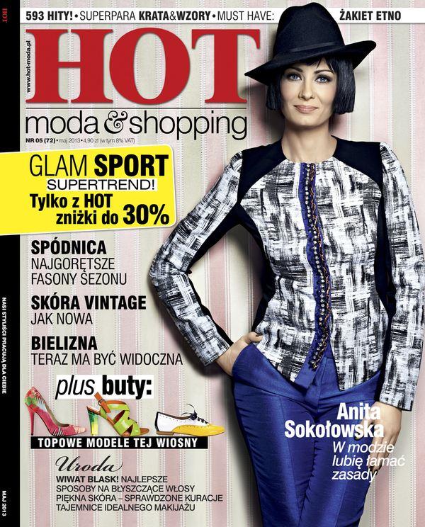 Odmieniona Anita Sokołowska na okładce nowego numeru HOT