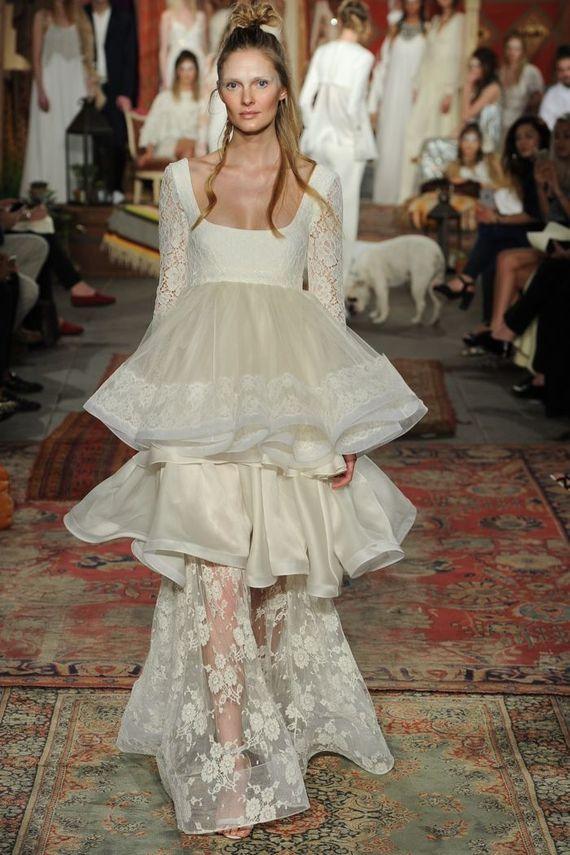 Suknie ślubne w stylu boho na sezon 2016 (FOTO)