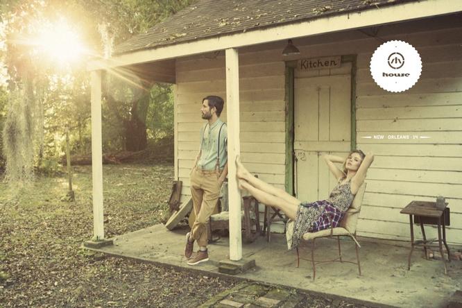 Wiosenno - letnia kampania House