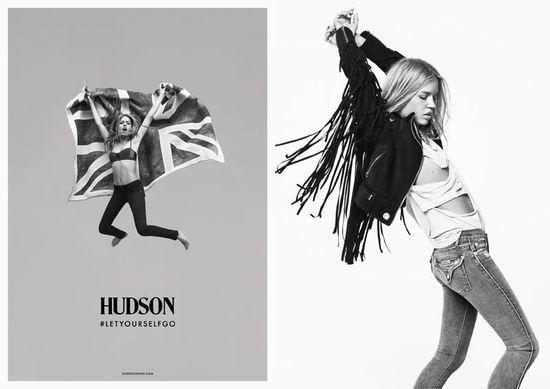 Georgia May Jagger w kampanii marki Hudson