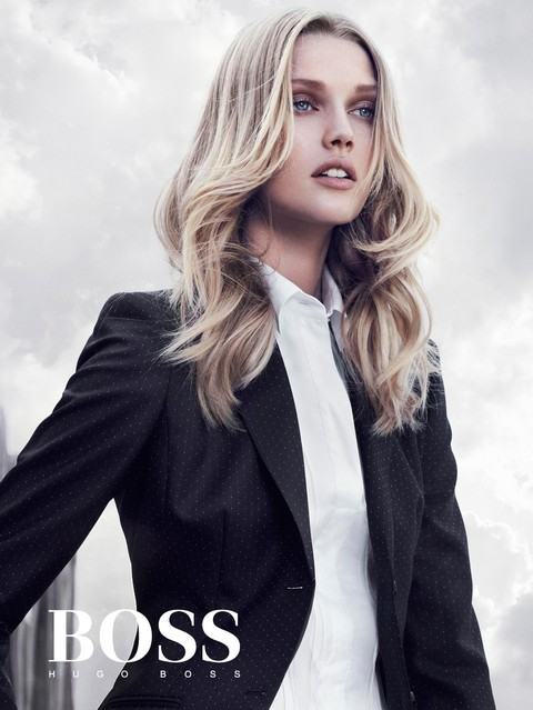 Toni Garrn dla Hugo Boss Black