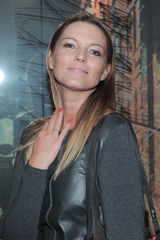 Ilona Felicjańska w skórzanej sukience (FOTO)