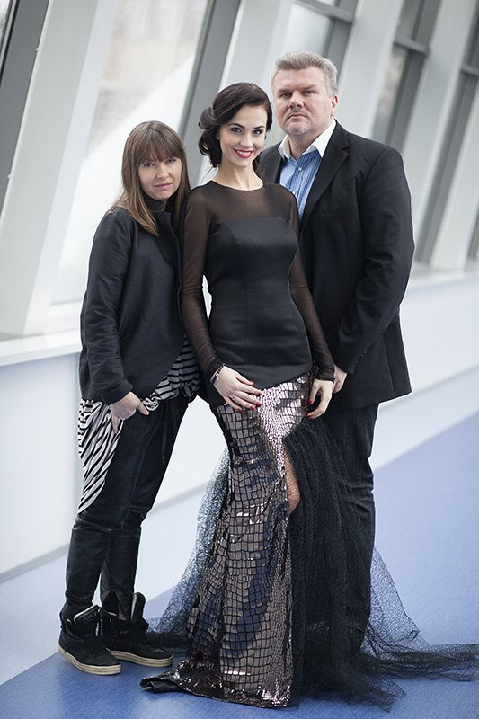 Oto wieczorowa suknia kandydatki do Miss Universe 2014