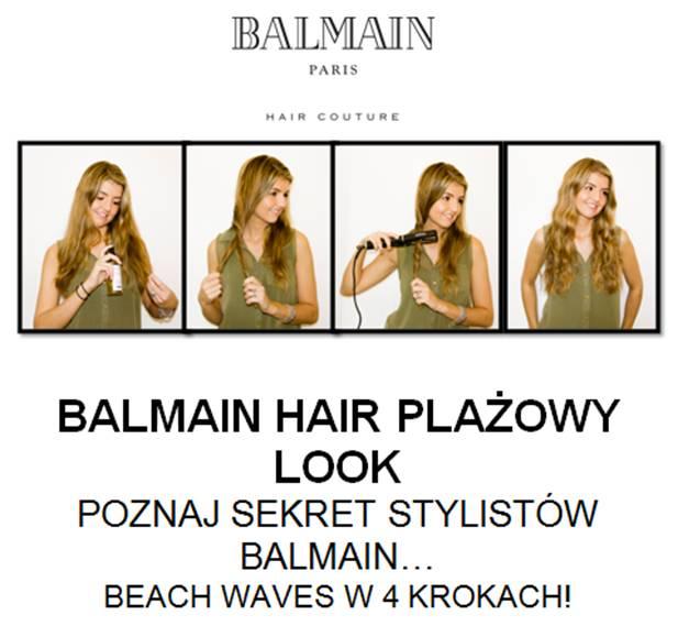 Idealna fryzura na lato - Plażowe fale wg Balmain (FOTO)