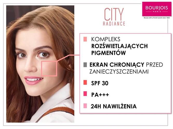 Bourjois - City Radiance - nwy podkład
