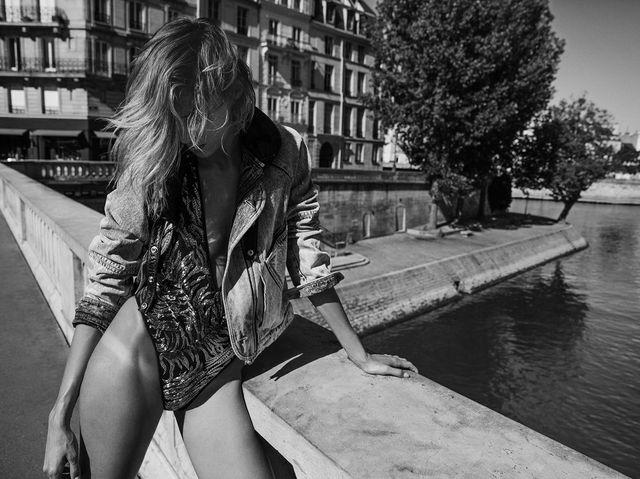 Anja Rubik gwiazdą najnowszej kampanii Saint Laurent (FOTO)