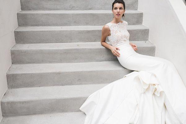 Suknie ślubne Carolina Herrera na wiosnę 2016 (FOTO)