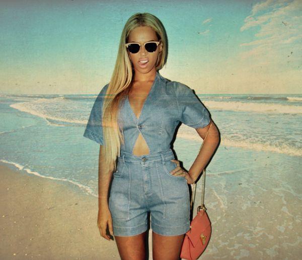 Beyonce zakochała się w swojej nowej blond peruce (FOTO)