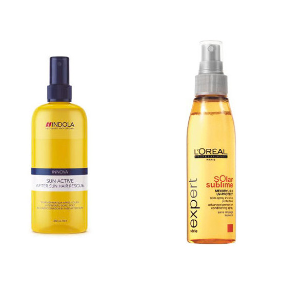 6 odżywek do włosów chroniących przed działaniem słońca