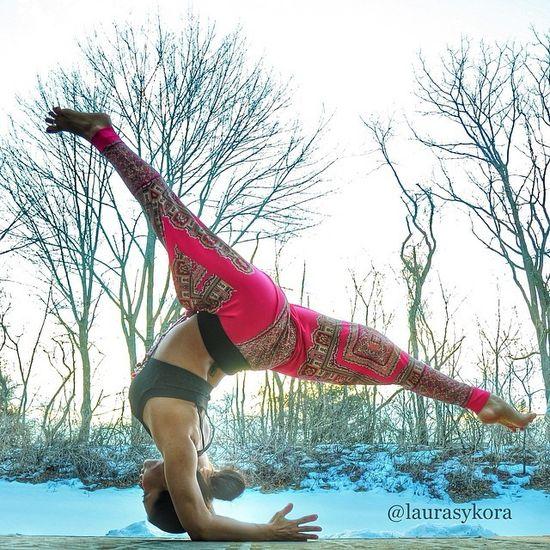 Postanowiła zarazić pasją do ćwiczeń swoją córeczkę (FOTO)