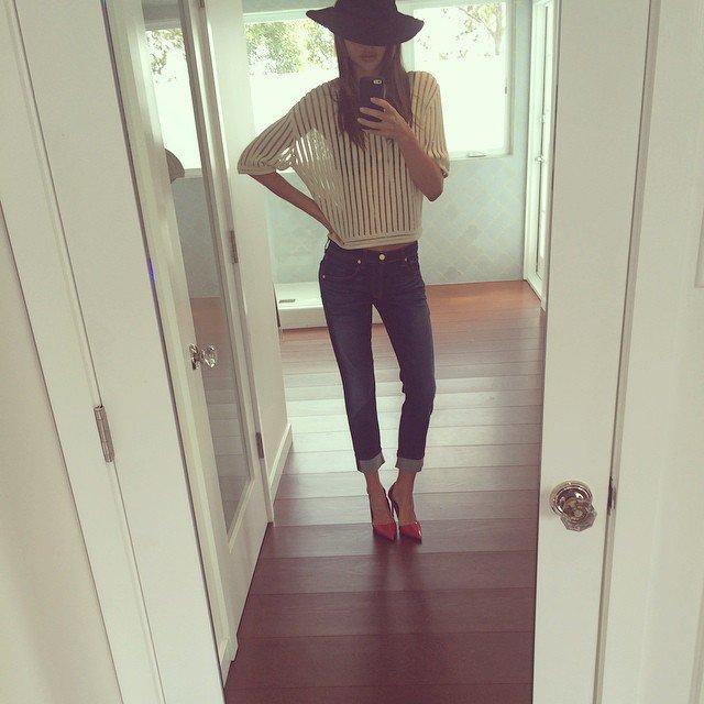 Czym modelki pochwaliły się na Instagramie? (FOTO)