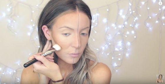Ta dziewczyna pokazuje idealny makijaż do selfie (FOTO)