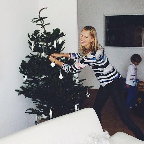 Świąteczne fotki modelek na Instagramie (FOTO)