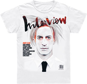 Marc Jacobs jako Warhol na koszulce