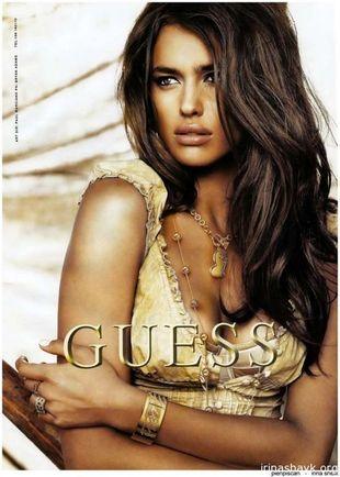 Irina Shayk w kampanii marki Guess (FOTO)