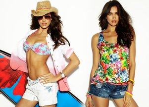 Irina Shayk dla Blanco Beachwear