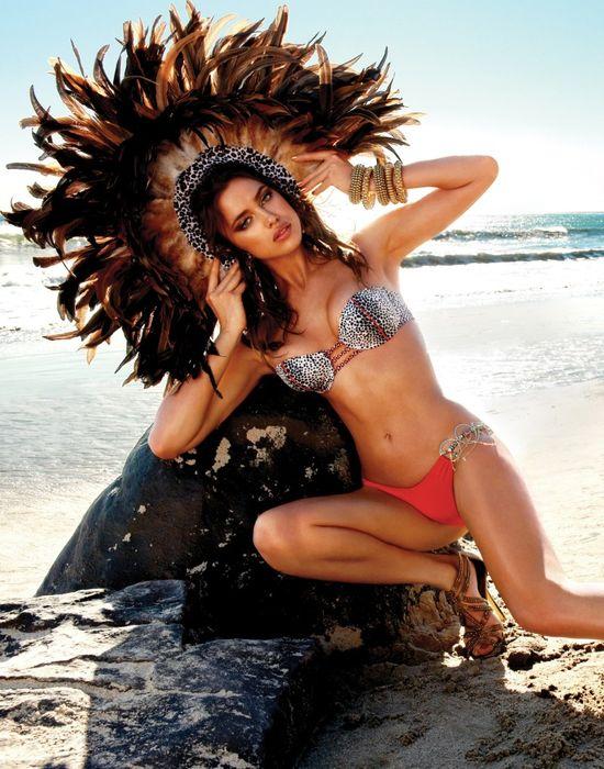Irina Shayk w kampanii Beach Bunny
