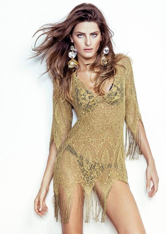 Isabeli Fontana w kampanii Morena Beach