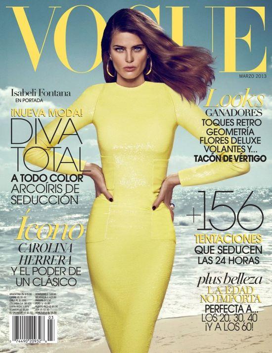Isabeli Fontana w kreacjach z największych domów mody