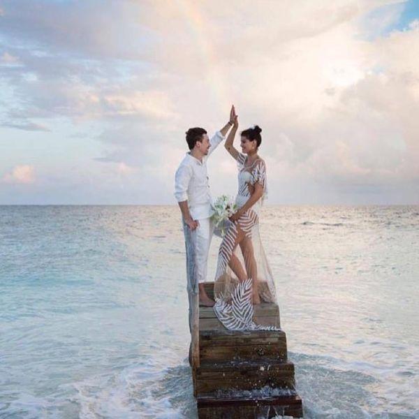 Isabeli Fontana miała najpiękniejszą suknię ślubną świata! (FOTO)