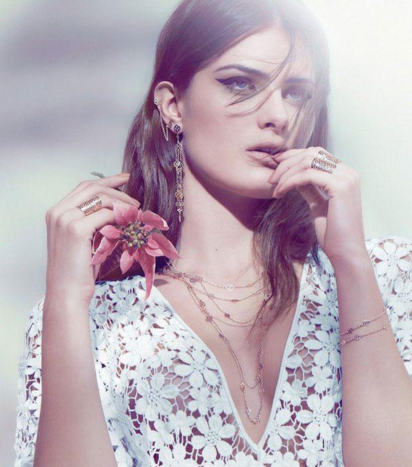 Isabeli Fontana w kolejnej kampanii biżuterii