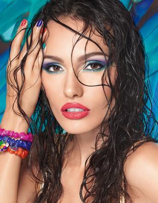 Letni makijaż według marki IsaDora