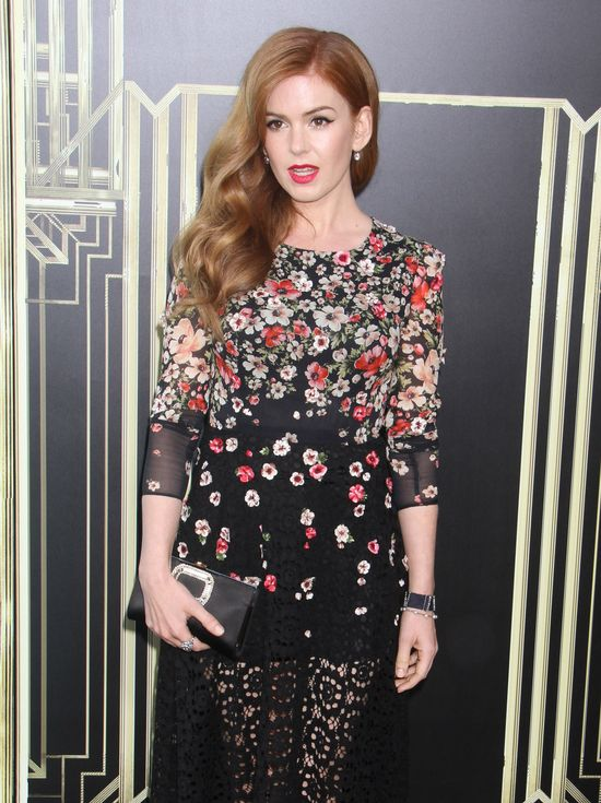 Isla Fisher w sukni Dolce&Gabbana (FOTO)