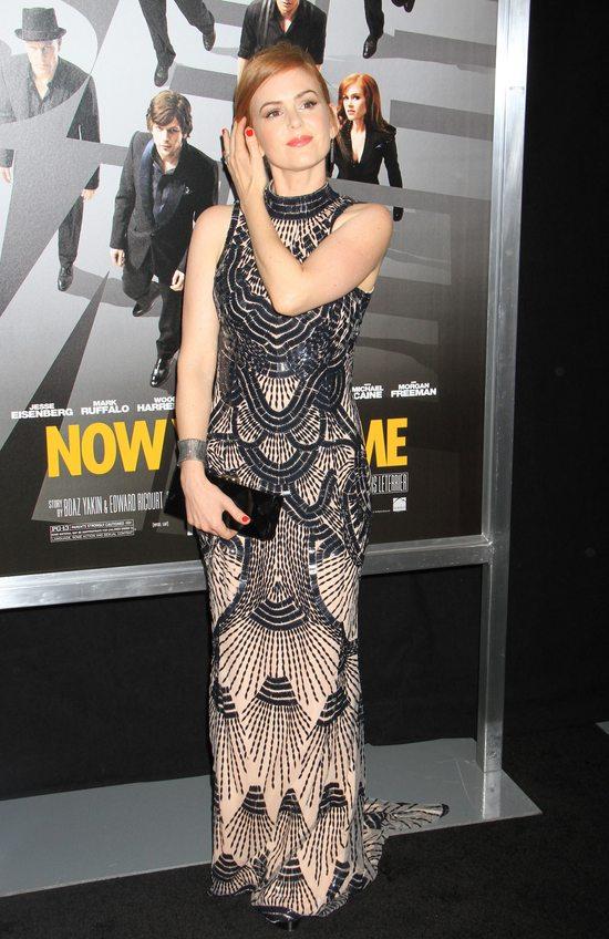 Isla Fisher w sukni L'Wren Scott (FOTO)