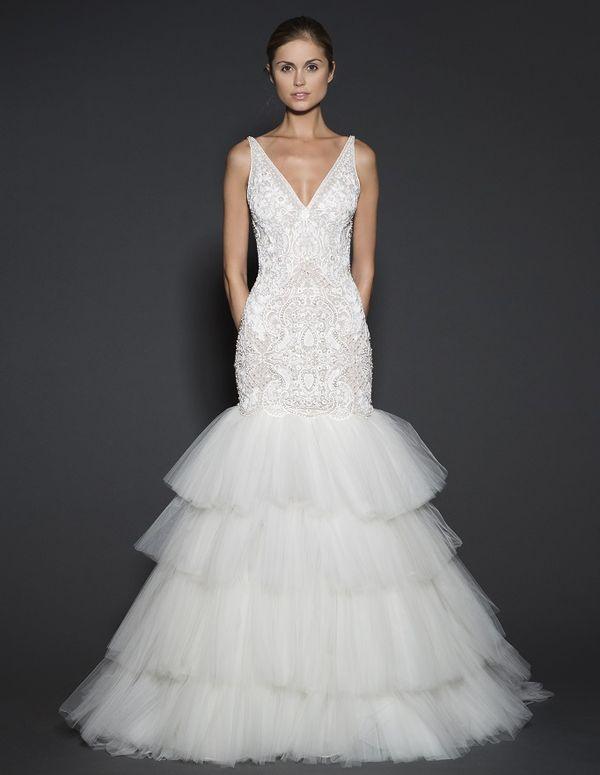 Najpiękniejsze suknie ślubne na wiosnę 2016 - Naeem Khan