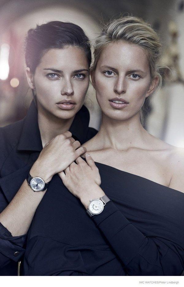 Adriana Lima i Karolina Kurkova w jednej kampanii! (FOTO)