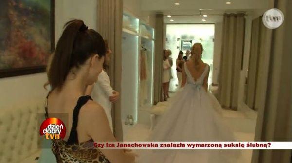 Suknia ślubna Izabeli Janachowskiej (VIDEO)